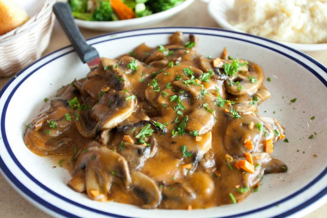 Chicken Marsala Dish
