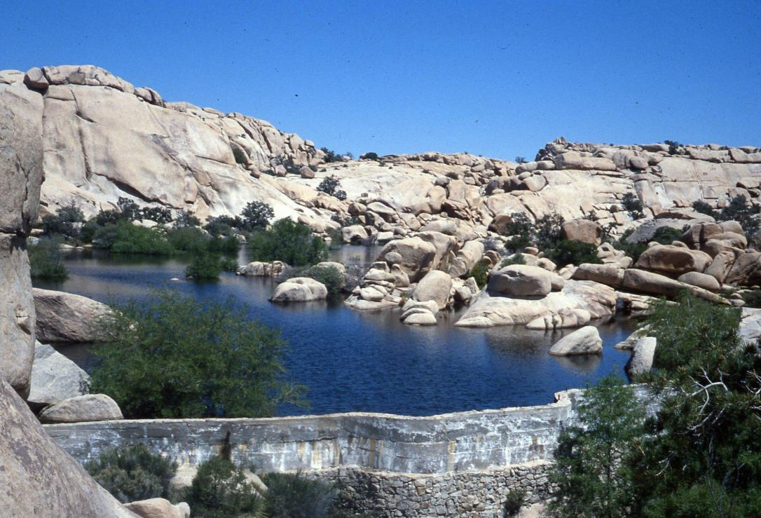 Barker Dam, Joshua Tree Natl. Monument, California, 1978